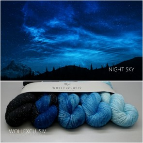 KIT SHINY GENTLE SOCKS ∣ NIGHT SKY